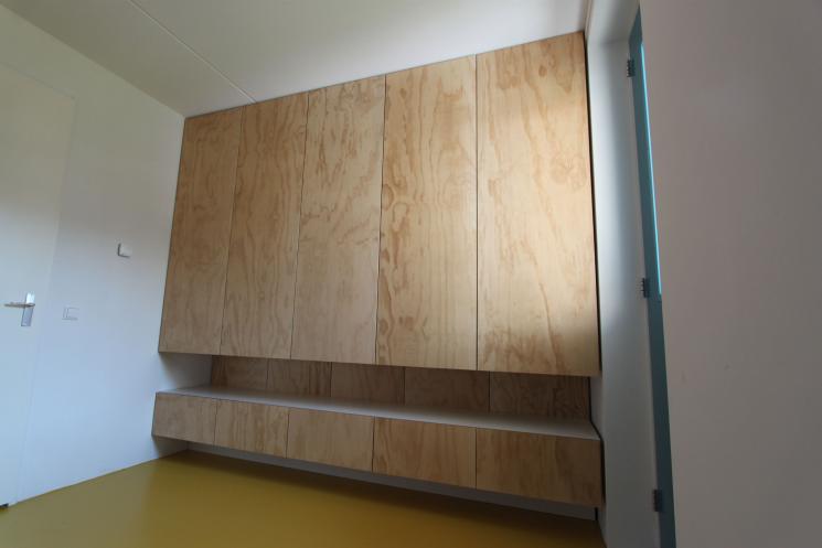 Kledingkast UnderlaymentKledingkast Underlayment,kledingkast op maat,Amsterdam,garderobelift,lades,pusch-open deuren,Finsvuren kast,meubels op maat,meubelmaker amsterdam