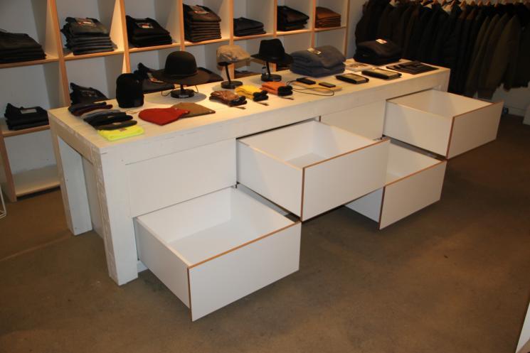 groot ladeblok,Amsterdam,ladeblok op maat,meubelmaker Amsterdam,Beer Hendriks