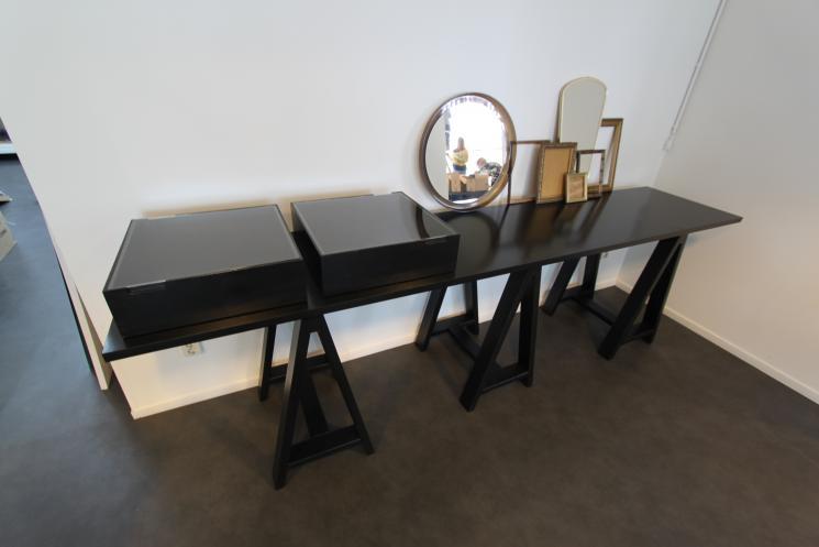 Showroom Mooi PR, schragentafel