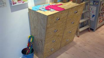 Commode, OSB, Big en Belg, design, Amsterdam