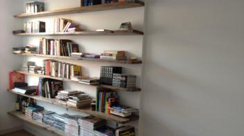 Projects beer hendriks maatwerk meubels - Plank wandmeubel ...